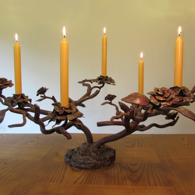 Rose Tree Candelabra by Pavlovs Dream