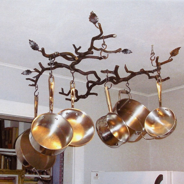 Tree Branch Pot and Pan Rack by Pavlovs Dream