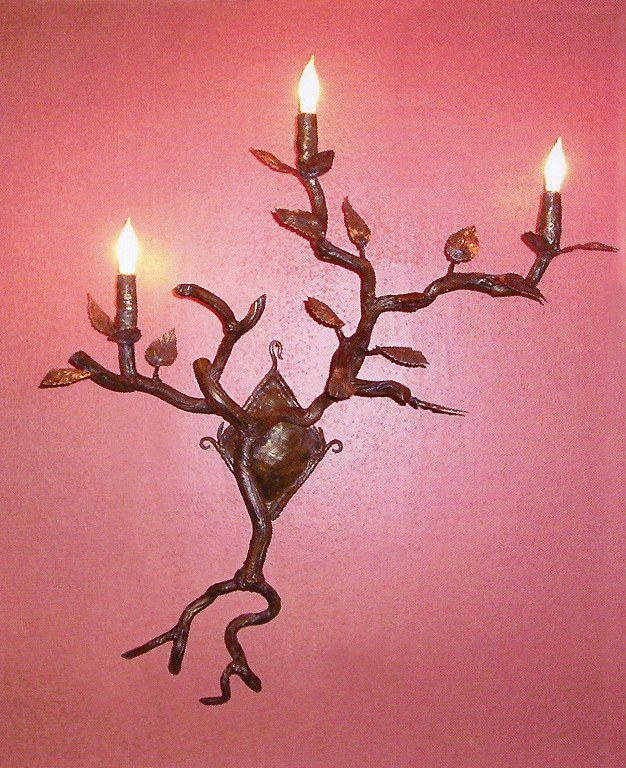 Tree Wall Sconce by Pavlovs Dream